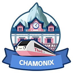 CHAMONIX (ThinQ.AI version 3.0 logo)