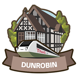 DUNROBIN (ThinQ.AI version 4.0 logo)