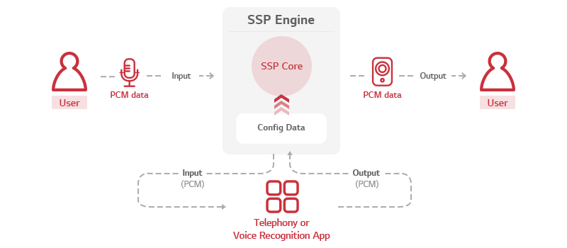 Architecture of SSP Engine