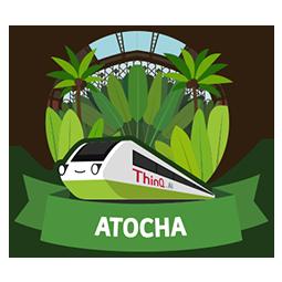 ATOCHA (Logo of ThinQ.AI version 1.0)