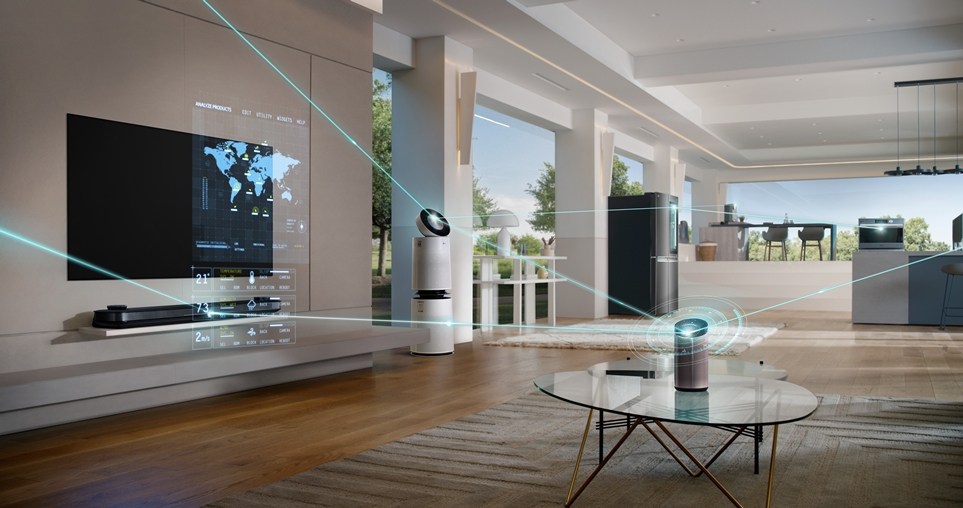 Example of artificial intelligence used in homes