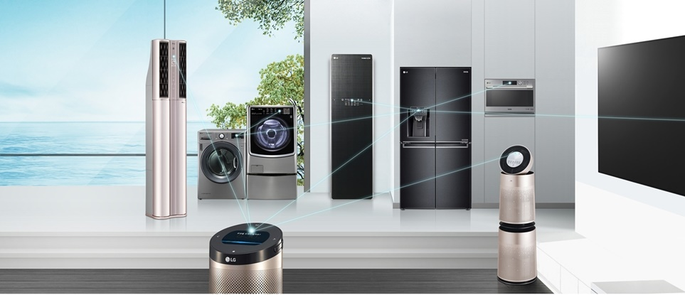 Home Appliances connected to LG ThinQ